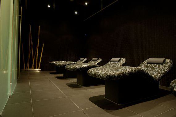 Warm relaxation rooms